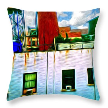 Water Tank Brooklyn Ny Ver 3 Throw Pillow