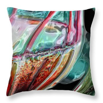 Throw Pillow featuring the photograph Water To Wine 1 by Kate Word