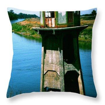 Water Treatment Throw Pillow by Peter Piatt