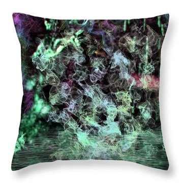 Water Visions Throw Pillow by Aliceann Carlton