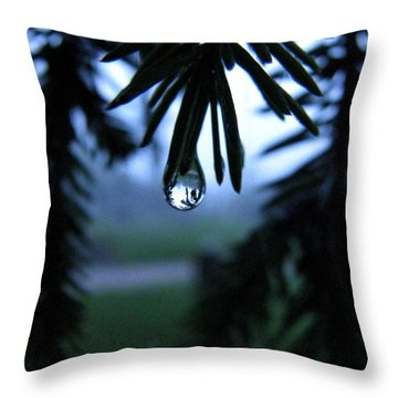 Water Whisper Throw Pillow