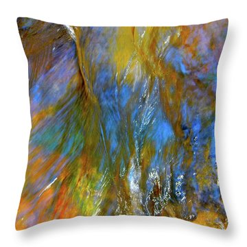 Water Wonder 164 Throw Pillow