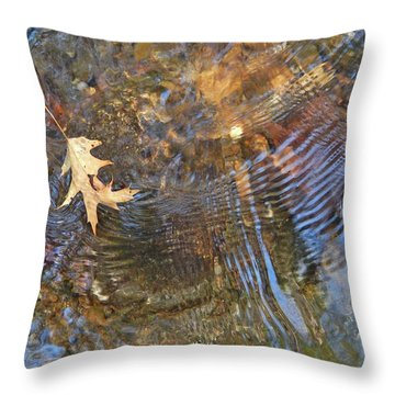 Water World 218 Throw Pillow