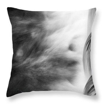 Throw Pillow featuring the photograph Water by Yuri Santin
