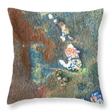 Waterburst Throw Pillow