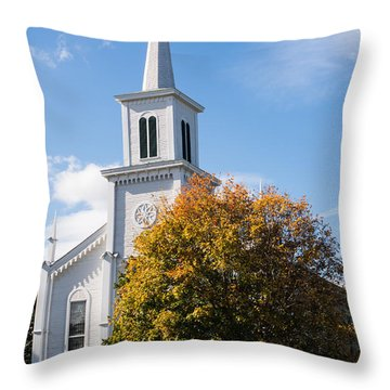 Waterbury Congregational Church, Ucc Throw Pillow