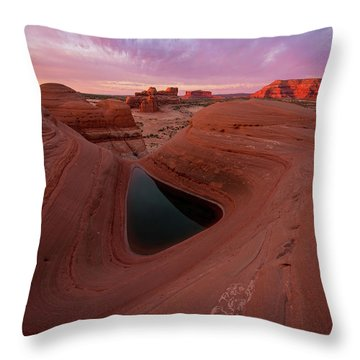 Throw Pillow featuring the photograph Watercolor Morning by Dustin LeFevre