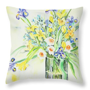 Watercolor Series 143 Throw Pillow