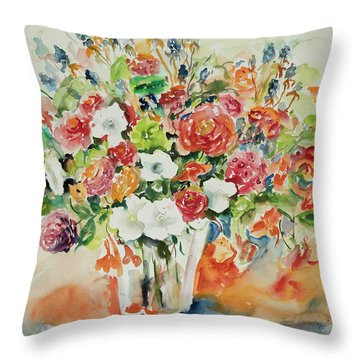 Watercolor Series 23 Throw Pillow