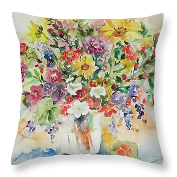 Watercolor Series 33 Throw Pillow