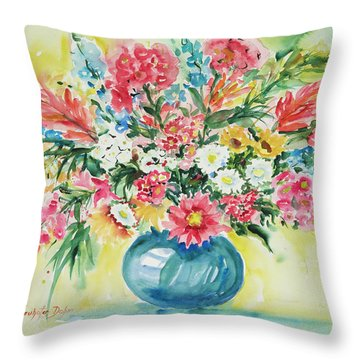 Watercolor Series 58 Throw Pillow