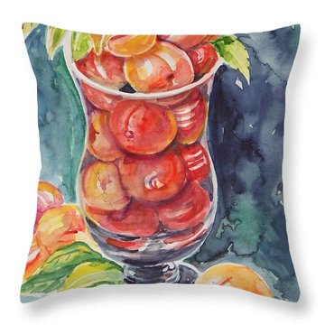 Watercolor Series No. 214 Throw Pillow