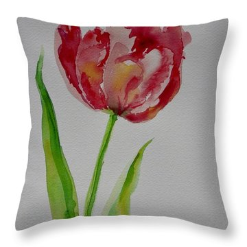 Watercolor Series No.  228 Throw Pillow