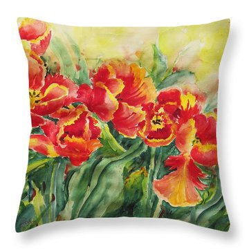Watercolor Series No. 241 Throw Pillow