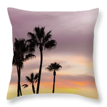 Throw Pillow featuring the photograph Watercolor Sky by Ana V Ramirez