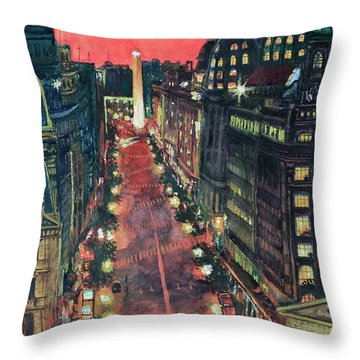 Watercolors-01 Throw Pillow by Bernardo Galmarini