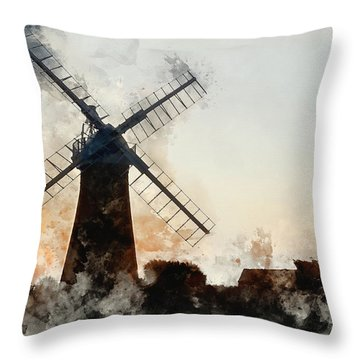 Architcture Throw Pillows