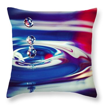 C'est La Vie Or Go With The Flow Throw Pillow