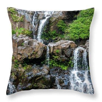 Waterfall Series Throw Pillow