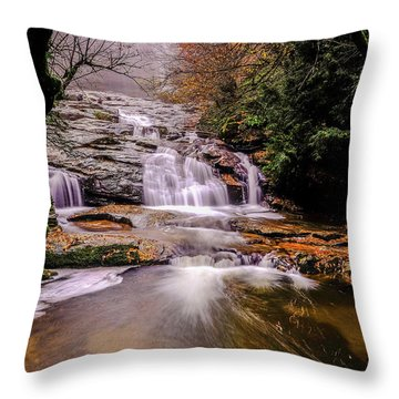 Waterfall-10 Throw Pillow