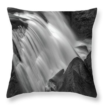 Waterfall 1577 Throw Pillow by Chris McKenna