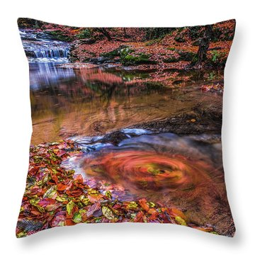 Waterfall-4 Throw Pillow