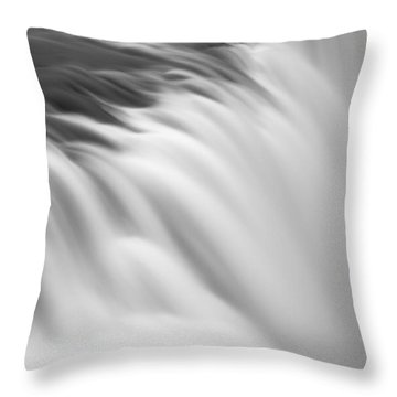 Waterfall Throw Pillow by Chris McKenna