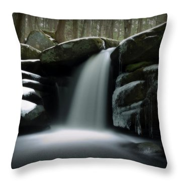 Waterfall From A Dream Throw Pillow