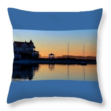 Waterfront Living Throw Pillow