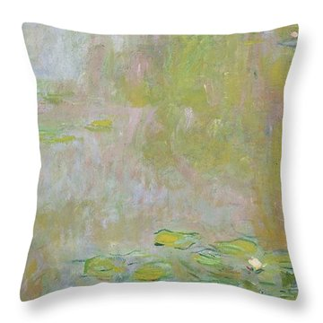 Pond Throw Pillows