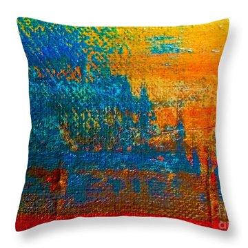 Waterloo Sunset Throw Pillow