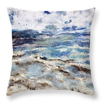 Water's Edge IIi Throw Pillow