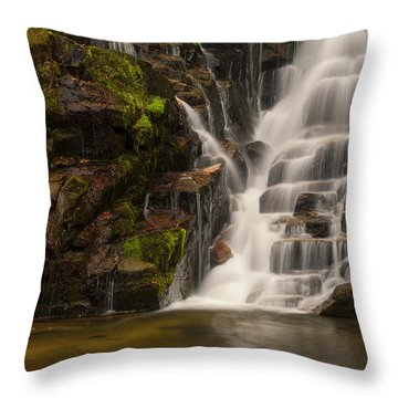 Water's Staircase Throw Pillow