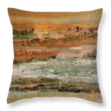 Waterworld #0955 Throw Pillow