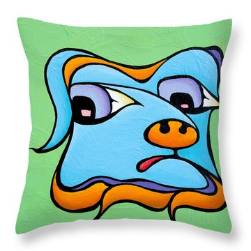 Watery Walter Throw Pillow