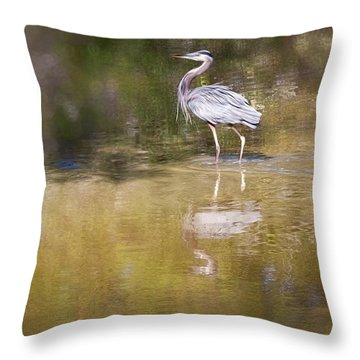 Watery World - Throw Pillow
