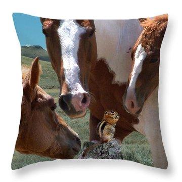 Watizit Throw Pillow