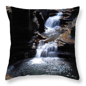 Watkins Glen 3 Throw Pillow by Vilas Malankar