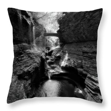 Watkins Glen Throw Pillow