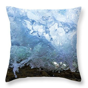 Wave 1 Throw Pillow