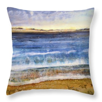 Wave 2 Throw Pillow