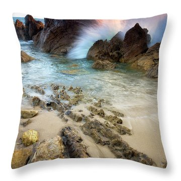 Wave Breaker  Throw Pillow