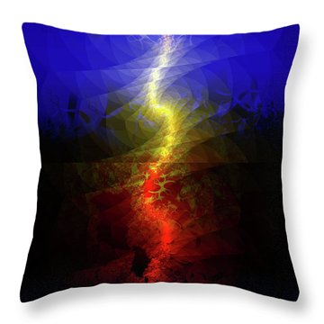 Wave Of Possibility Throw Pillow