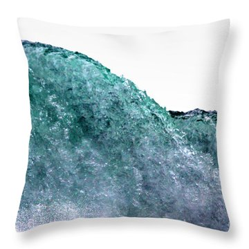 Throw Pillow featuring the photograph Wave Rider by Dana DiPasquale