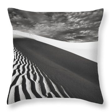Throw Pillow featuring the photograph Wave Theory Vii by Ryan Weddle