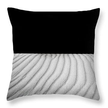 Wave Theory Viii Throw Pillow