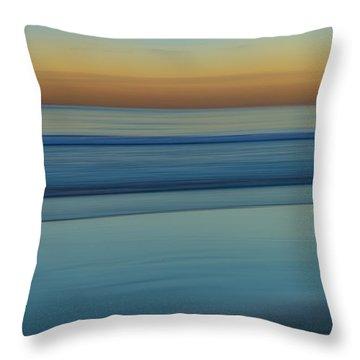 Wave Tracks 3 Throw Pillow