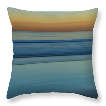 Wave Tracks 3 Throw Pillow