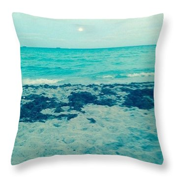 Waves IIi Throw Pillow