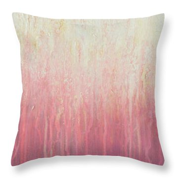 Waves Of Lights Throw Pillow